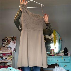 Allure Bridals Dresses - Taupe Bridesmaids Dress